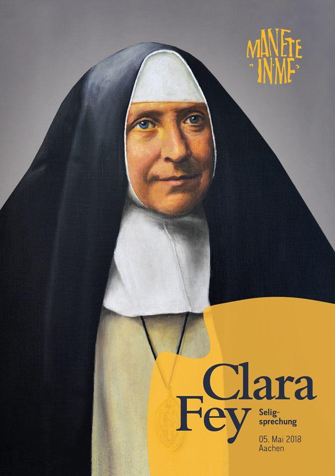 Clara Fey - foto zaligspreking Bistum Aachen